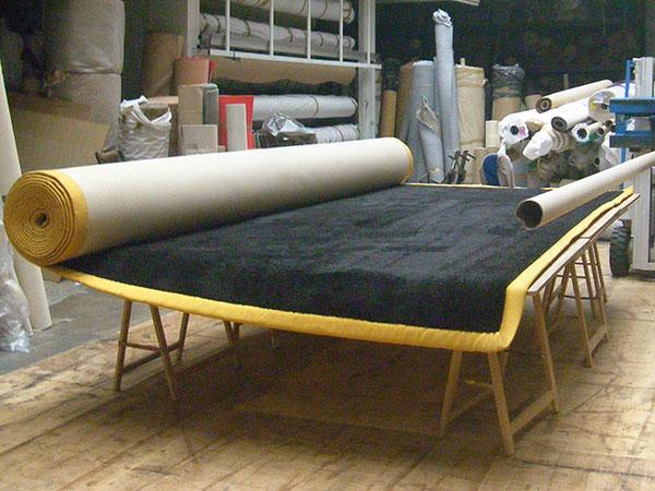 Création d'un tapis grande taille